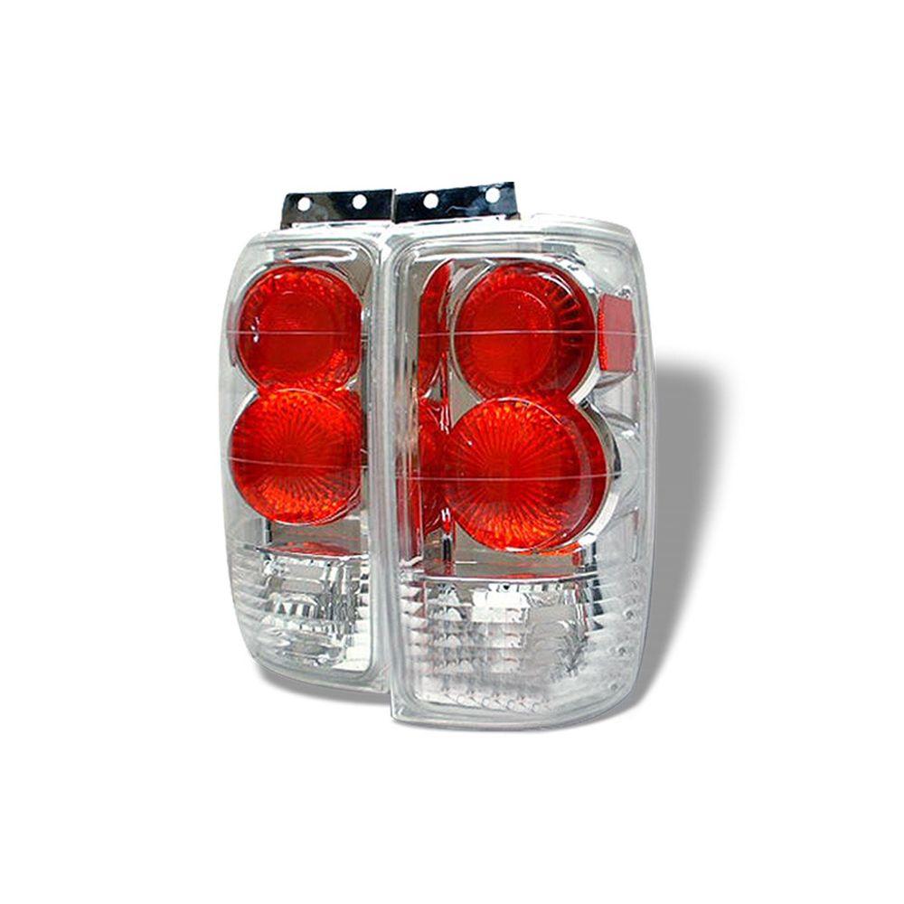 Spyder Auto ® - Chrome Euro Style Tail Lights (5002839)
