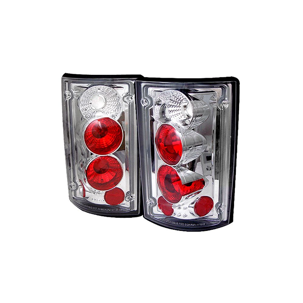 Spyder Auto ® - Chrome Euro Style Tail Lights (5002921)