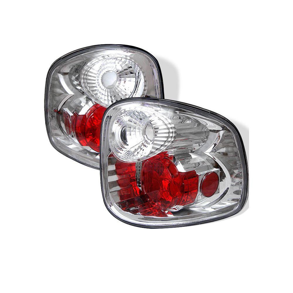 Spyder Auto ® - Chrome Euro Style Tail Lights (5003386)
