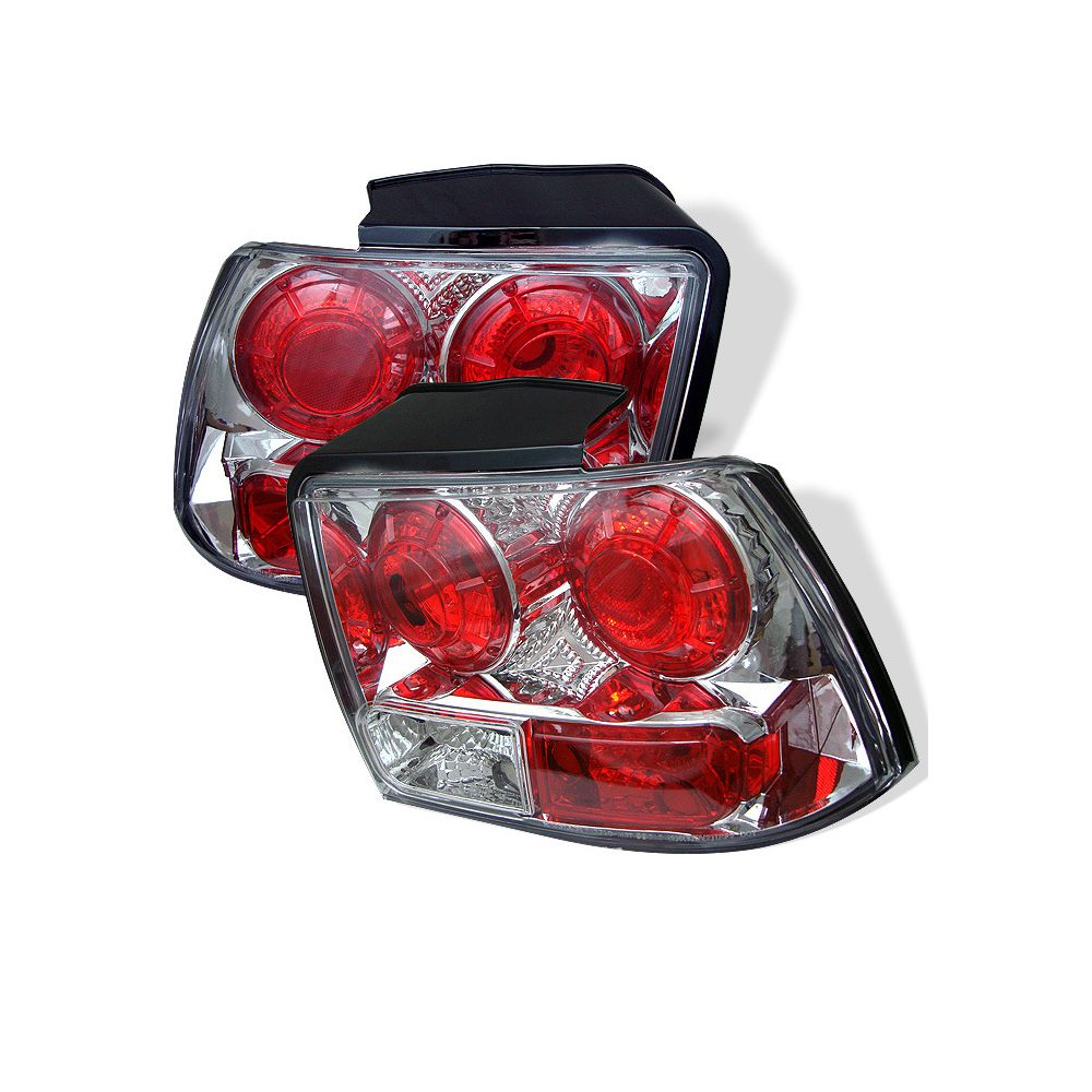 Spyder Auto ® - Chrome Euro Style Tail Lights (5003676)