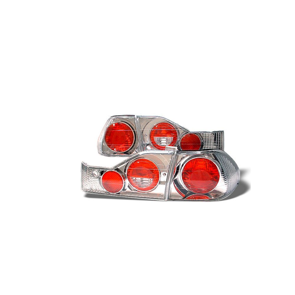 Spyder Auto ® - Chrome Euro Style Tail Lights (5004338)