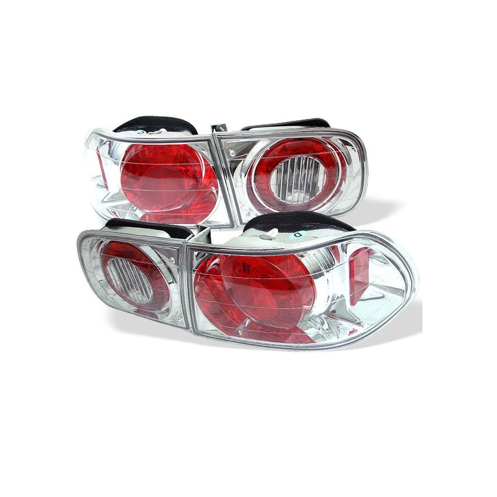 Spyder Auto ® - Chrome Euro Style Tail Lights (5004598)