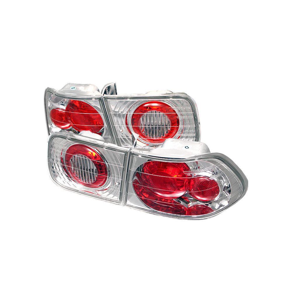 Spyder Auto ® - Chrome Euro Style Tail Lights (5004802)