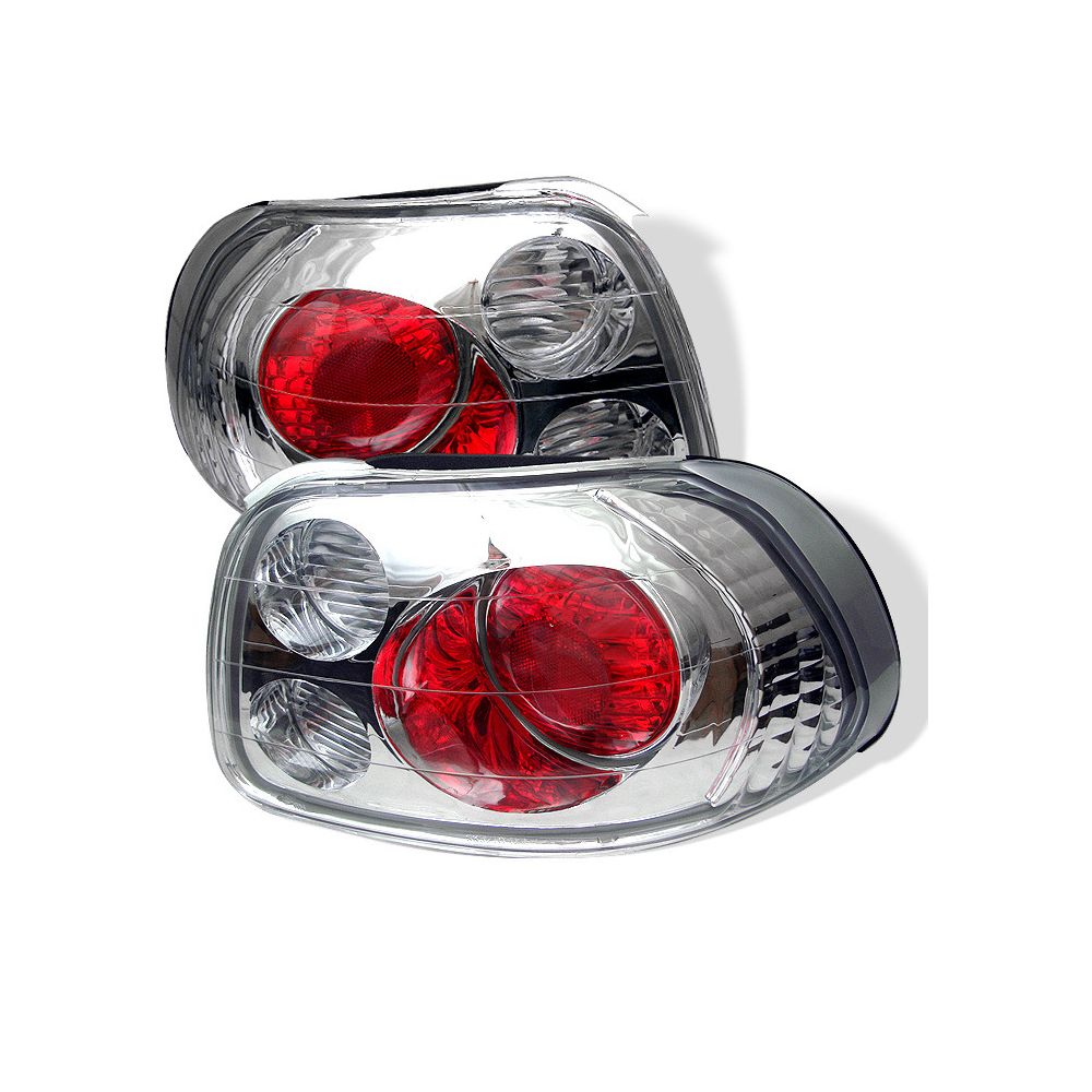 Spyder Auto ® - Chrome Euro Style Tail Lights (5005175)