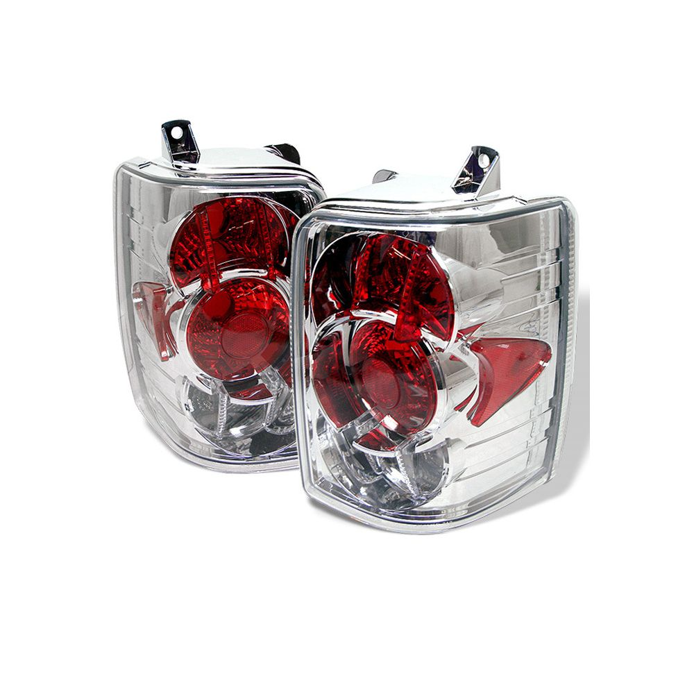 Spyder Auto ® - Chrome Euro Style Tail Lights (5005595)