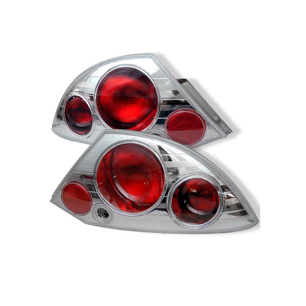 Spyder Auto ® - Chrome Euro Style Tail Lights (5006295)