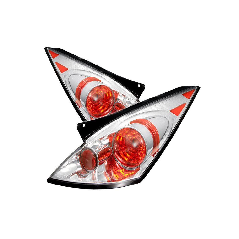 Spyder Auto ® - Chrome Euro Style Tail Lights (5006691)