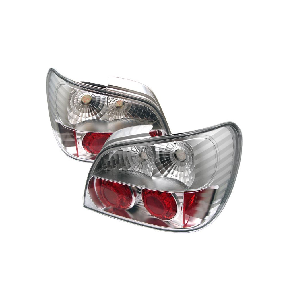 Spyder Auto ® - Chrome Euro Style Tail Lights (5007209)