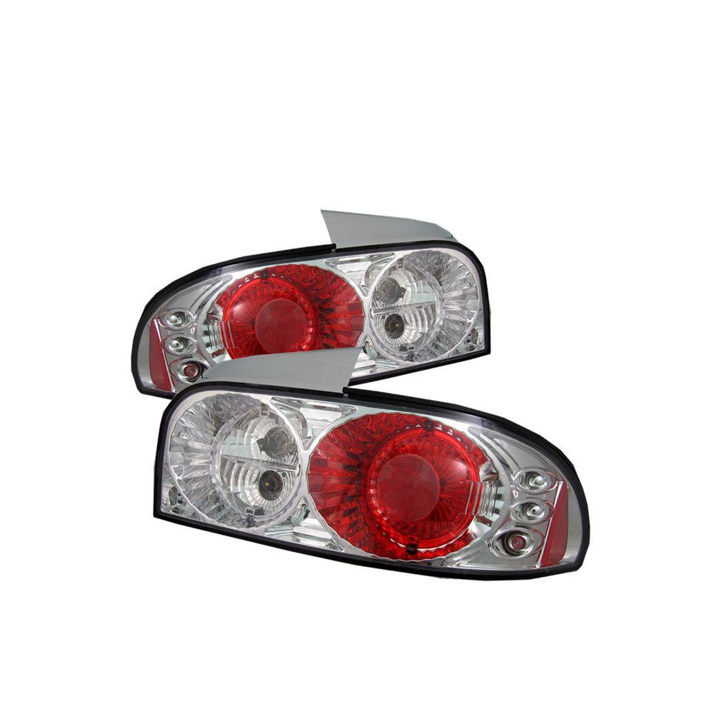 Spyder Auto ® - Chrome Euro Style Tail Lights (5007278)