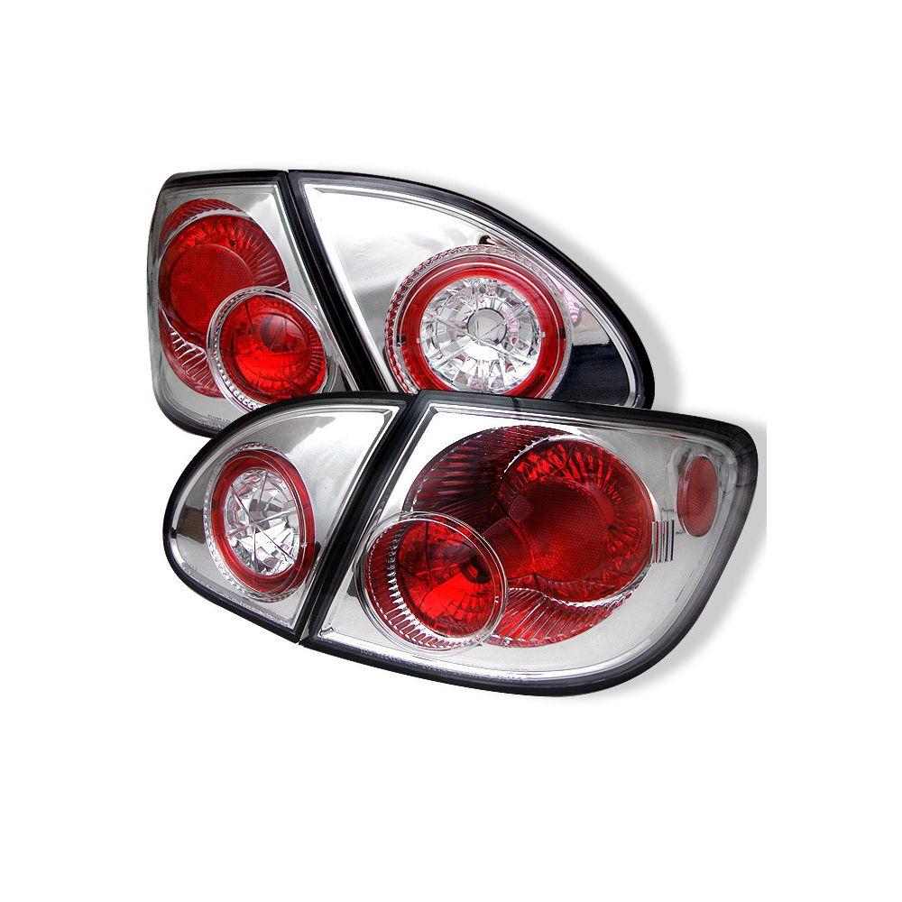 Spyder Auto ® - Chrome Euro Style Tail Lights (5007346)