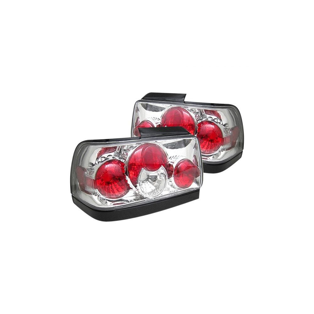 Spyder Auto ® - Chrome Euro Style Tail Lights (5007414)