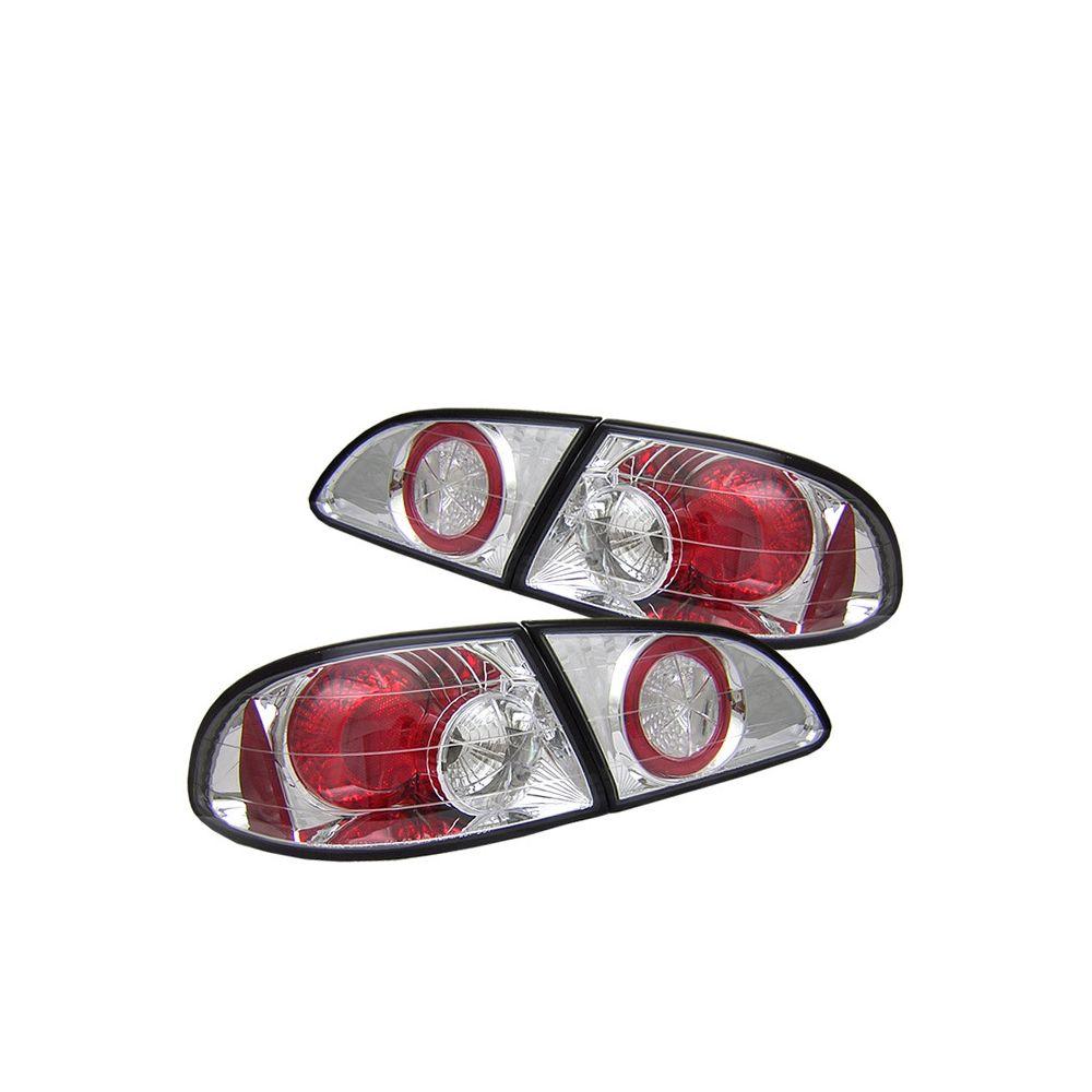Spyder Auto ® - Chrome Euro Style Tail Lights (5007483)