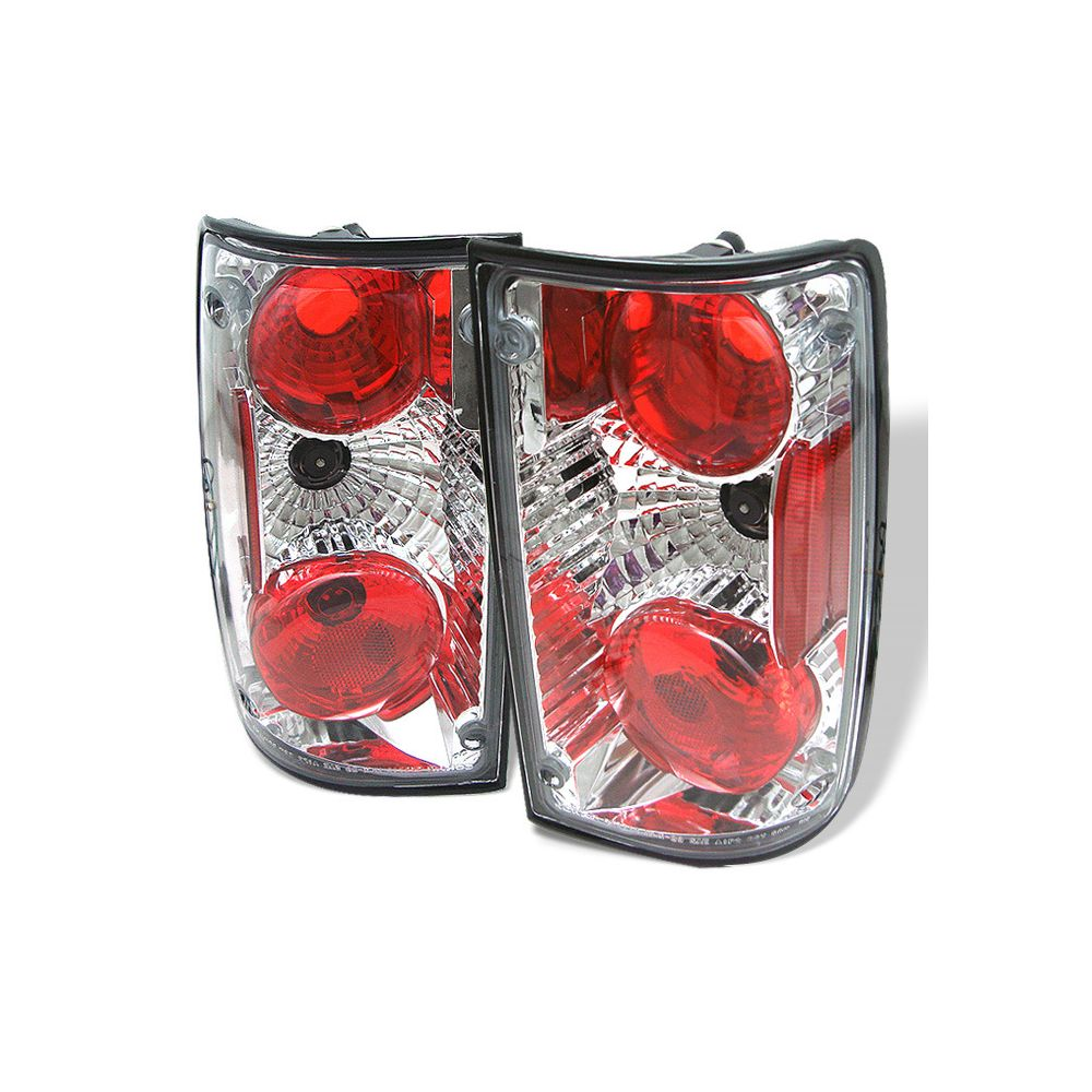 Spyder Auto ® - Chrome Euro Style Tail Lights (5007643)