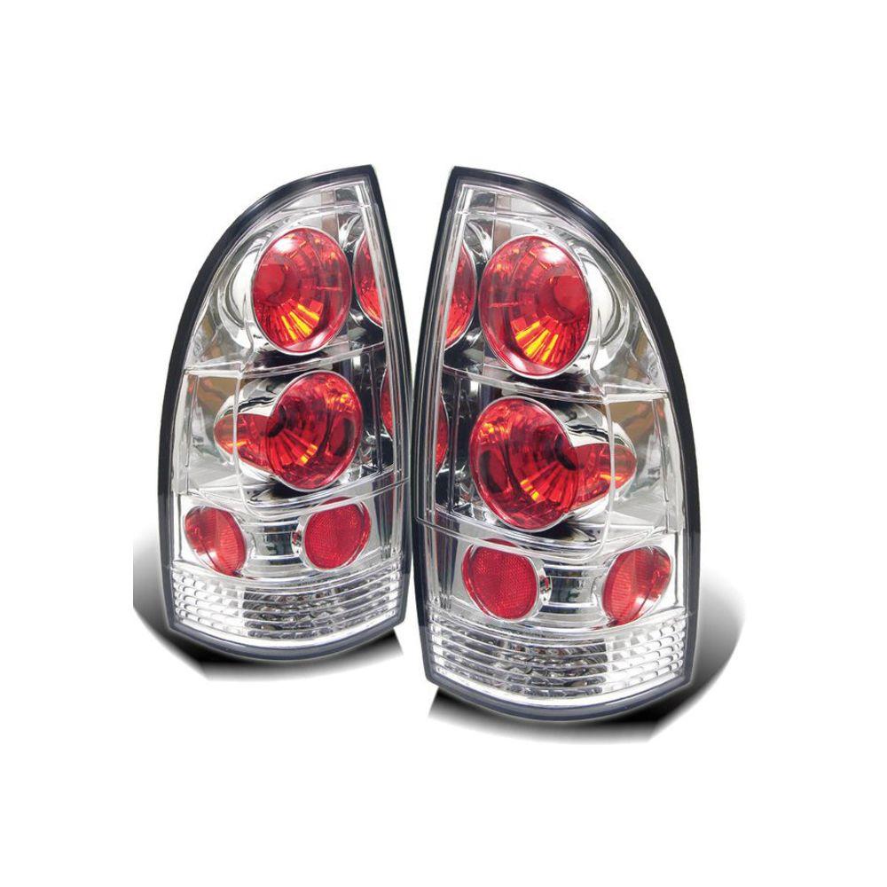 Spyder Auto ® - Chrome Euro Style Tail Lights (5007902)