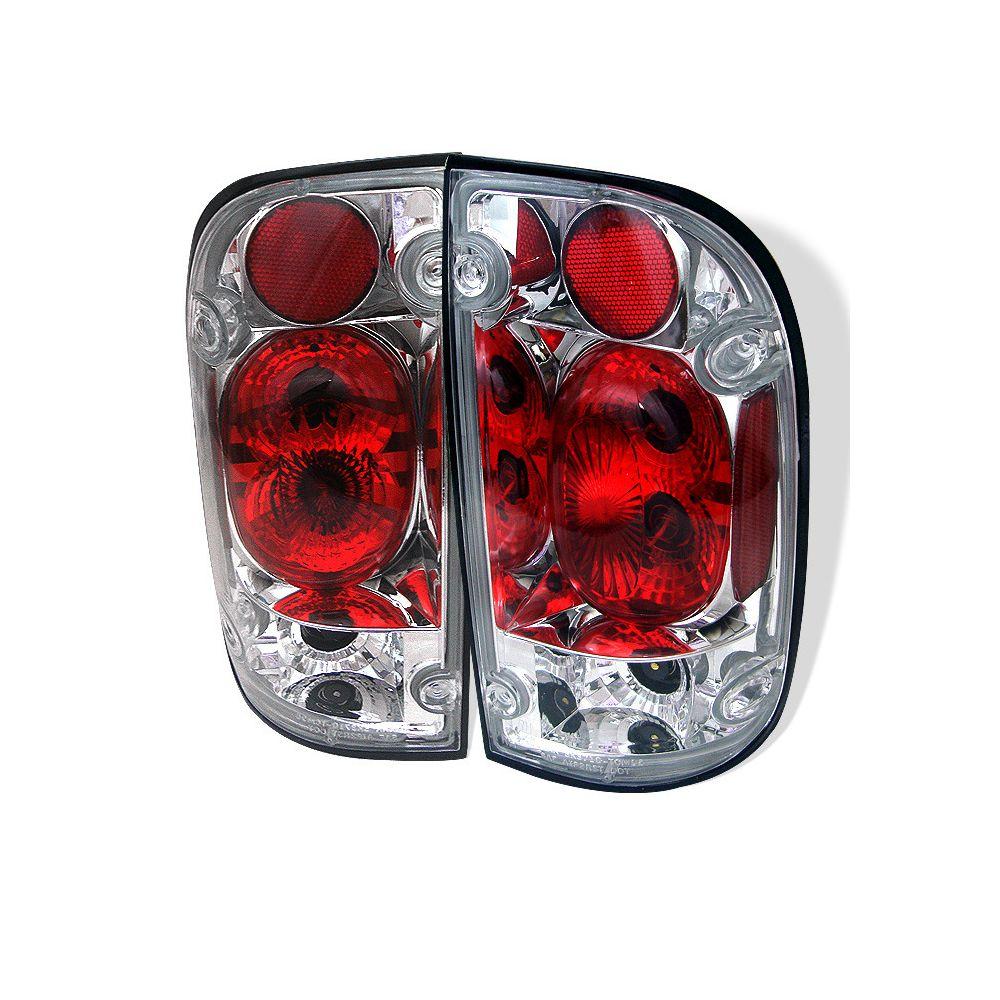 Spyder Auto ® - Chrome Euro Style Tail Lights (5007995)