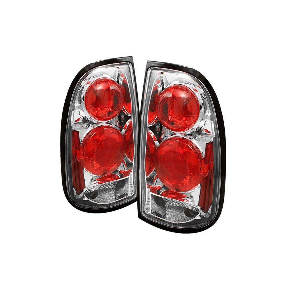 Spyder Auto ® - Chrome Euro Style Tail Lights (5008091)