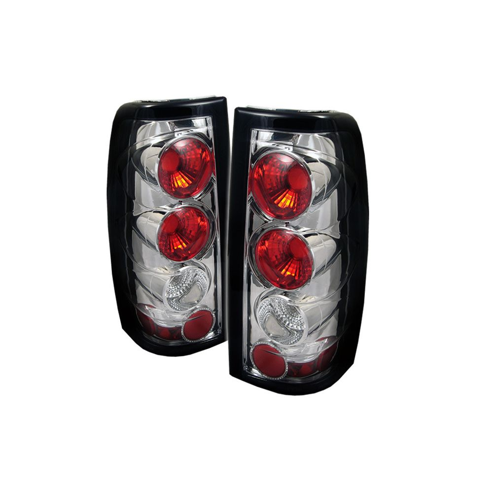 Spyder Auto ® - Chrome Euro Style Tail Lights G2 Version (5002020)