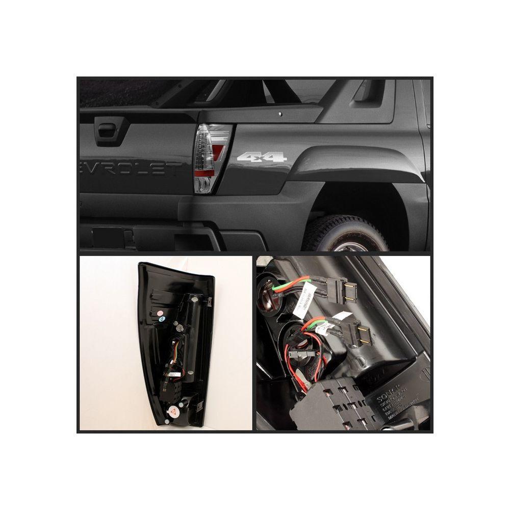 Spyder Auto ® - Chrome LED Tail Lights (5001078)