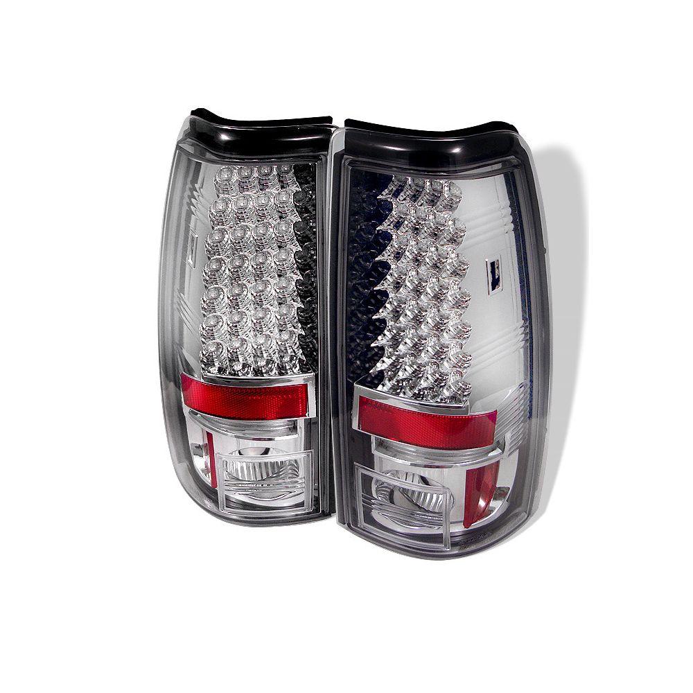 Spyder Auto ® - Chrome LED Tail Lights (5002051)