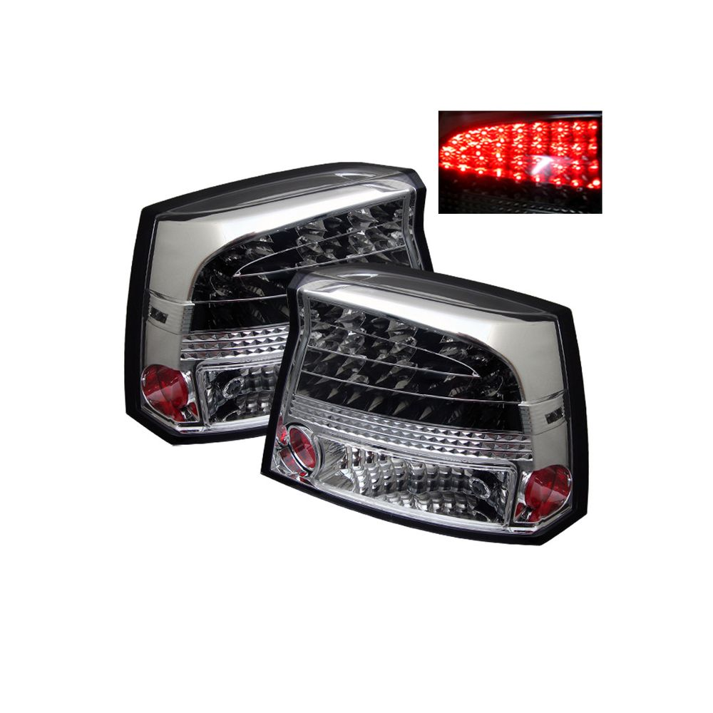 Spyder Auto ® - Chrome LED Tail Lights (5002280)