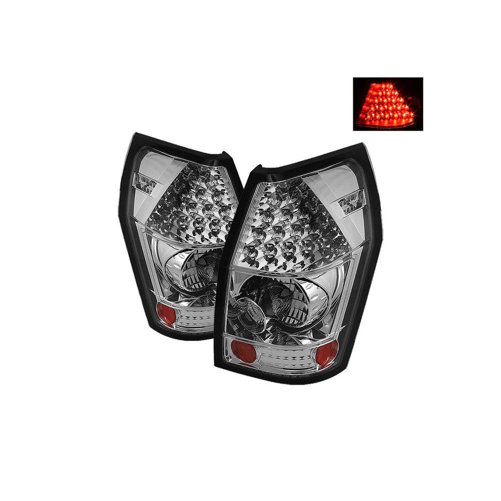 Spyder Auto ® - Chrome LED Tail Lights (5002372)