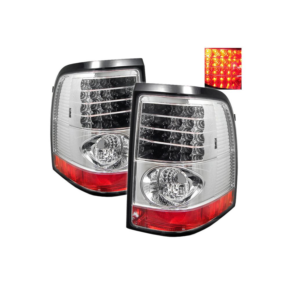 Spyder Auto ® - Chrome LED Tail Lights (5002969)