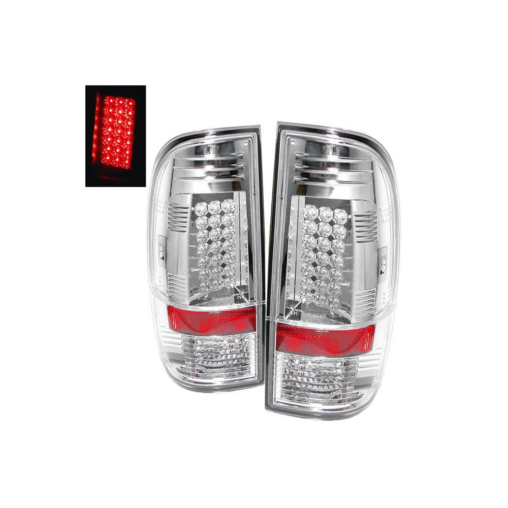 Spyder Auto ® - Chrome LED Tail Lights (5003904)