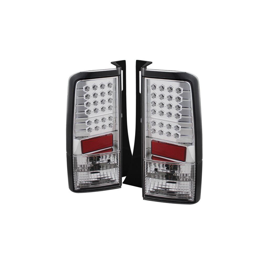 Spyder Auto ® - Chrome LED Tail Lights (5007766)