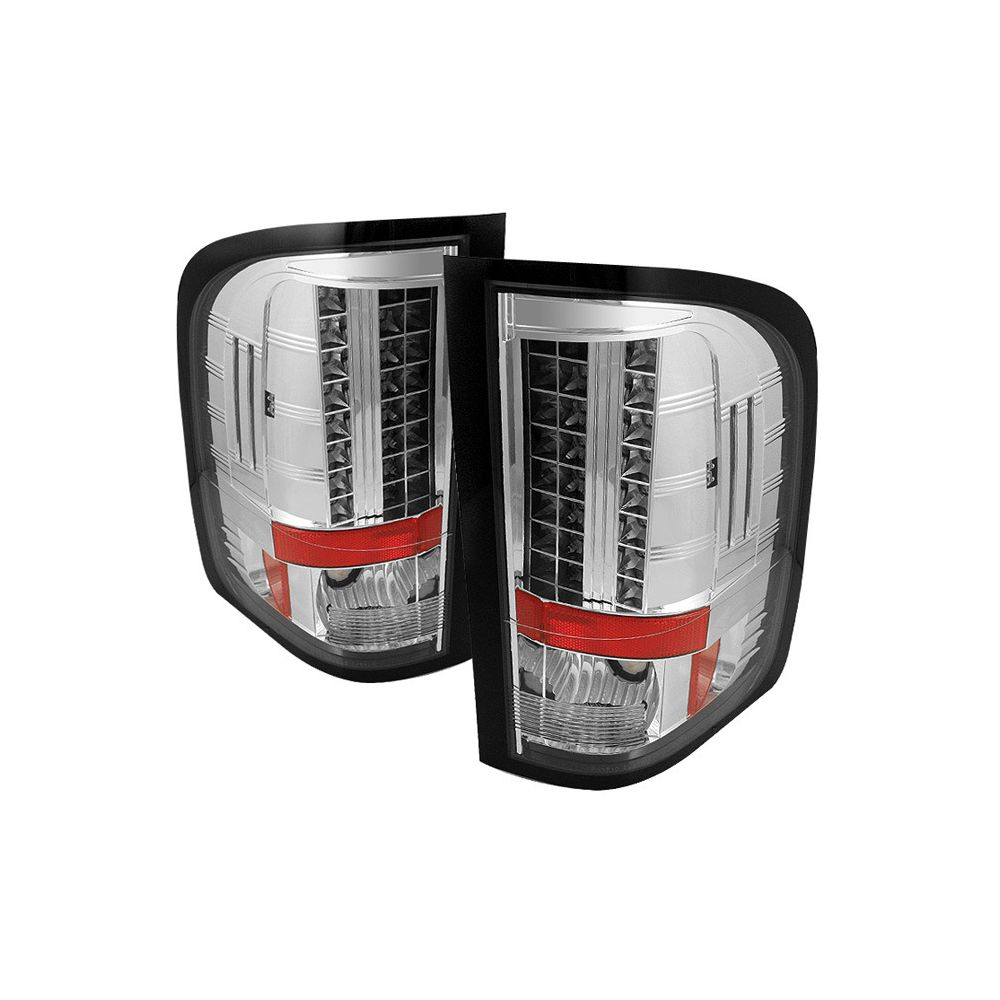 Spyder Auto ® - Chrome LED Tail Lights (5029546)