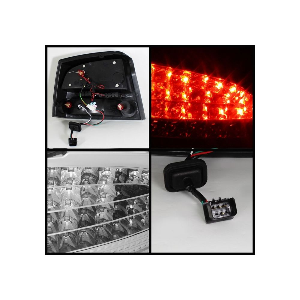 Spyder Auto ® - Chrome LED Tail Lights (5031655)