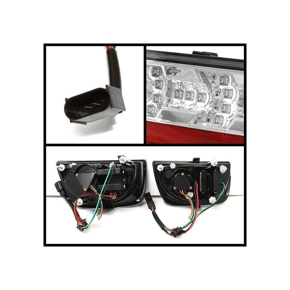 Spyder Auto ® - Chrome LED Tail Lights (5032171)