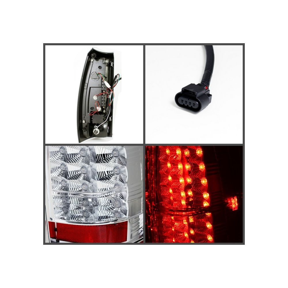 Spyder Auto ® - Chrome LED Tail Lights (5032454)
