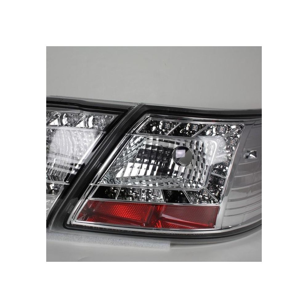 Spyder Auto ® - Chrome LED Tail Lights (5042583)
