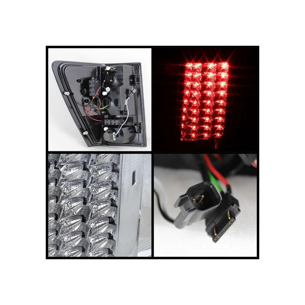 Spyder Auto ® - Chrome LED Tail Lights (5070180)