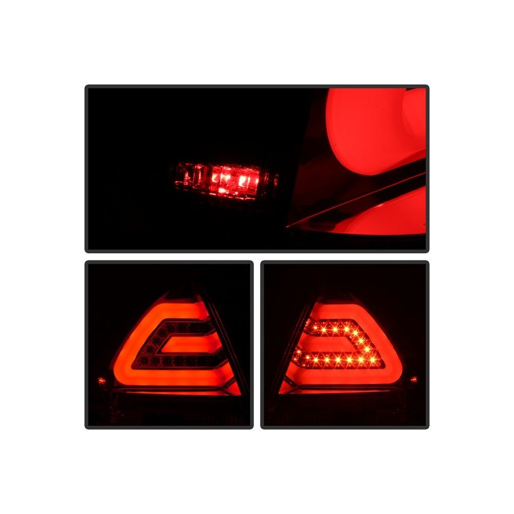Spyder Auto ® - Chrome LED Tail Lights (5076397)