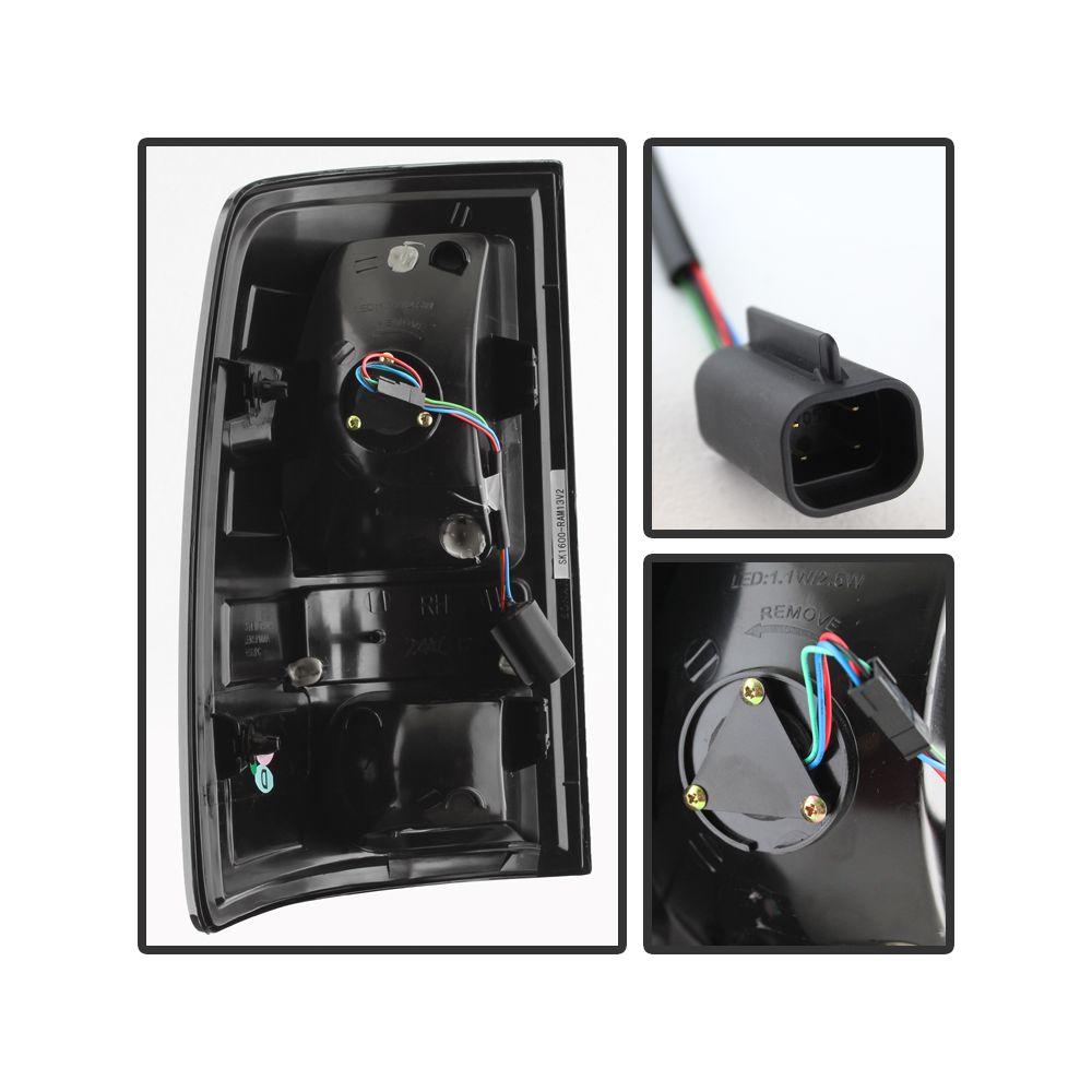 Spyder Auto ® - Chrome LED Tail Lights (5077523)