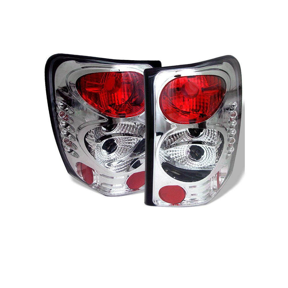 Spyder Auto ® - Chrome Euro Style Tail Lights (5005632)