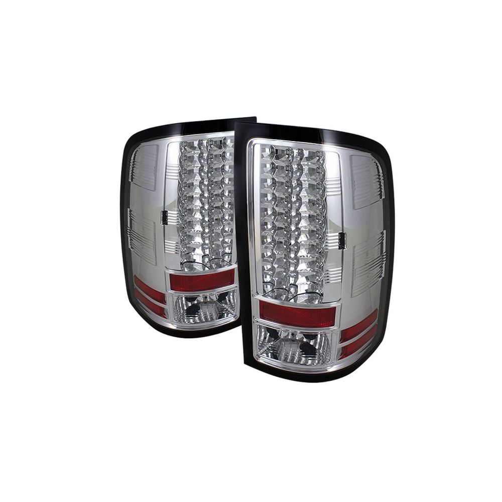 Spyder Auto ® - Chrome LED Tail Lights (5014931)