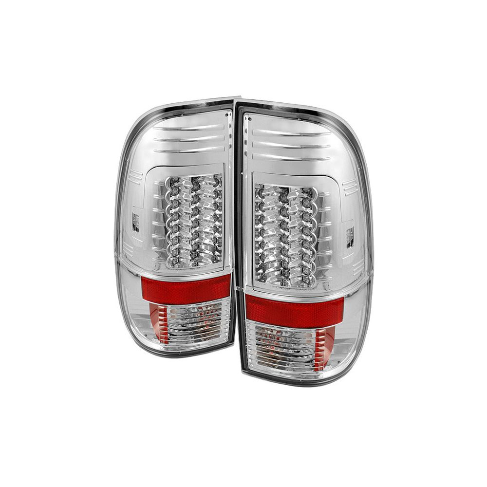 Spyder Auto ® - Chrome Version 2 LED Tail Lights (5029126)