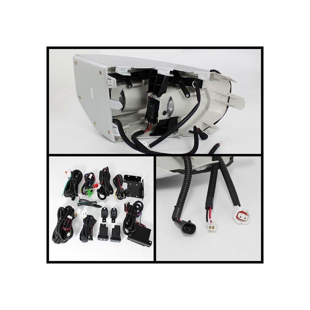 Spyder Auto ® - Clear Fog With LED Daytime Running Fog Lights (5070555)