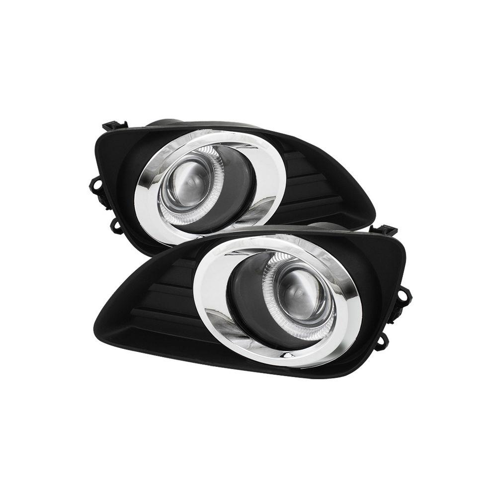 Spyder Auto ® - Clear Halo Projector Fog Lights (5038708)