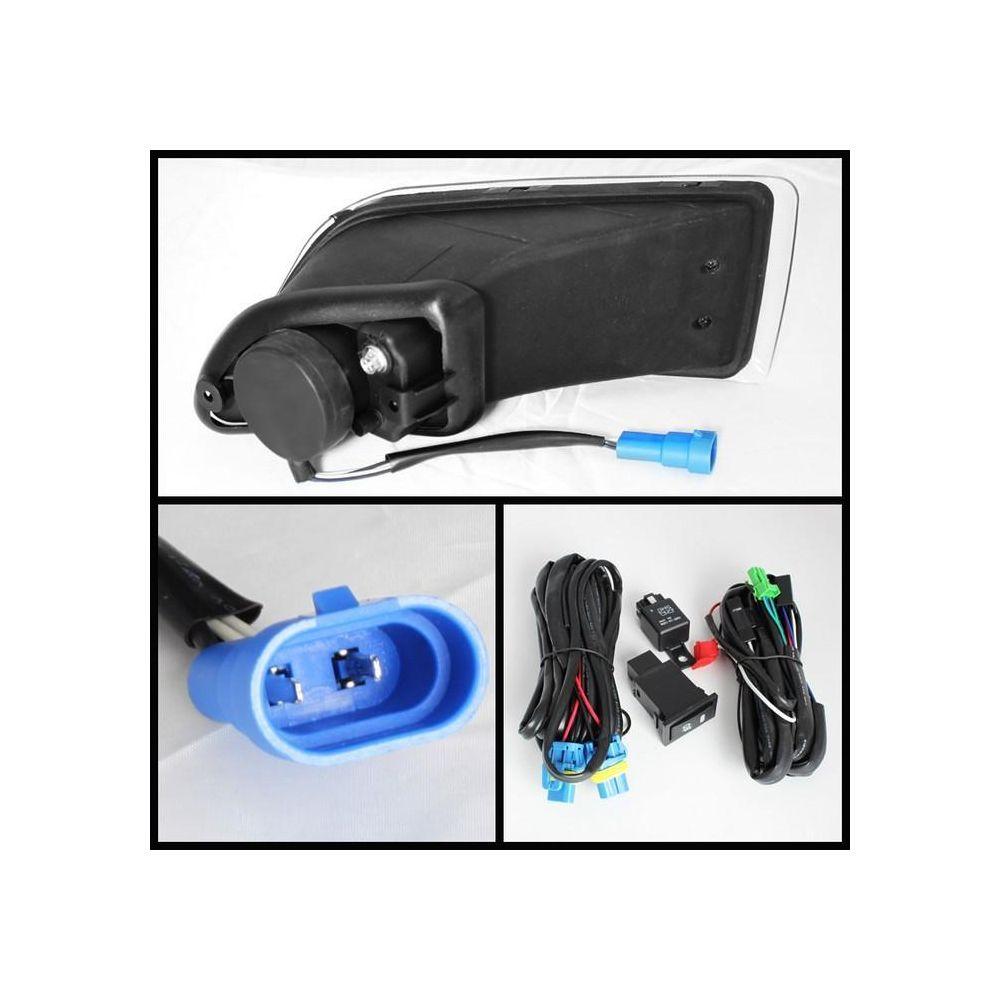 Spyder Auto ® - Clear LED Fog Lights (5071620)