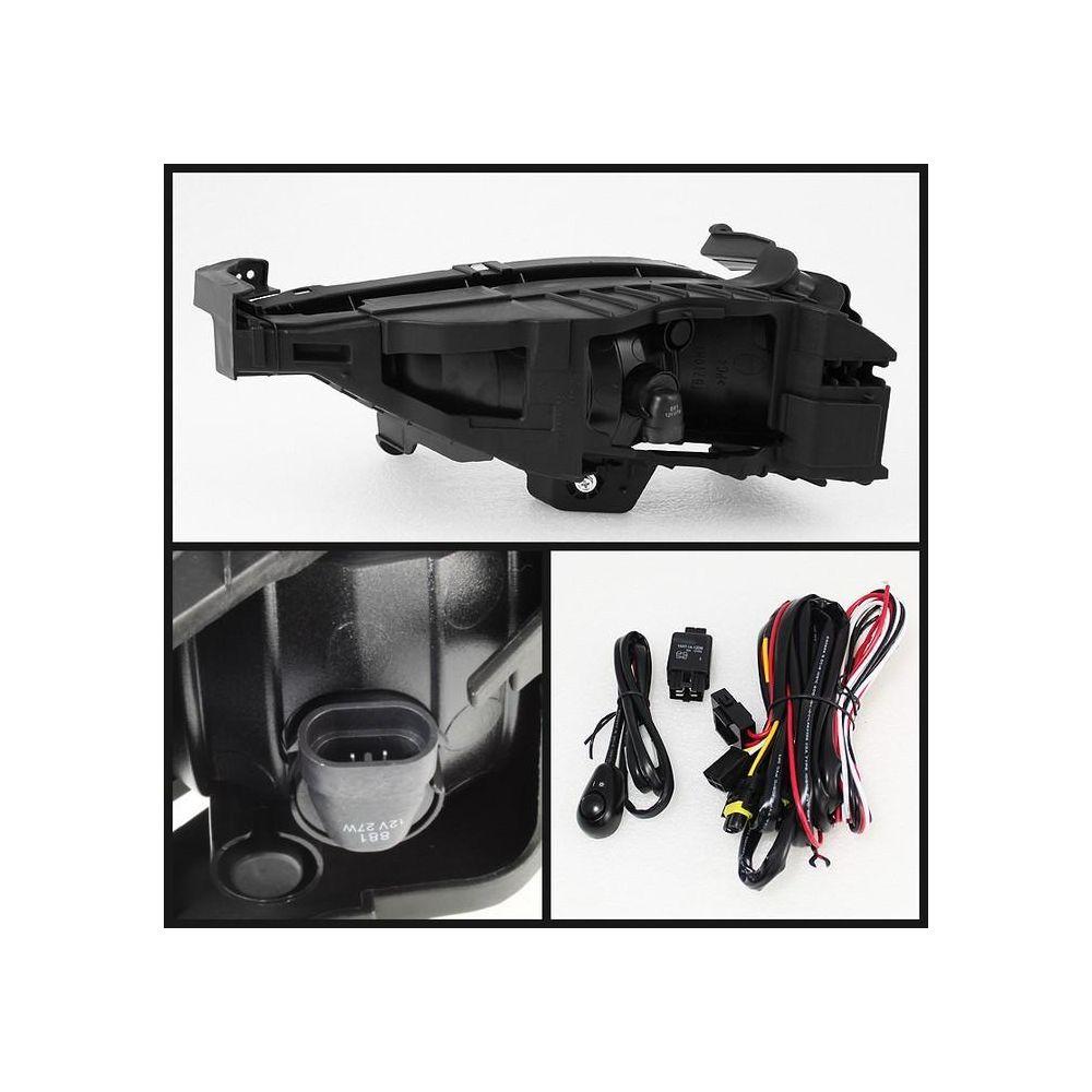 Spyder Auto ® - Clear OE Style Fog Lights (5064929)