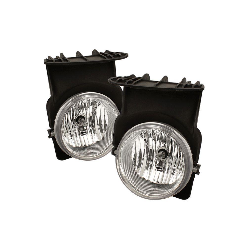 Spyder Auto ® - Clear OEM Style Fog Lights (5020857)