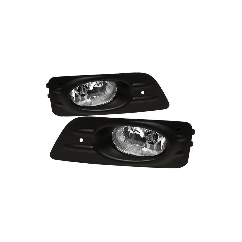 Spyder Auto ® - Clear OEM Style Fog Lights (5020918)