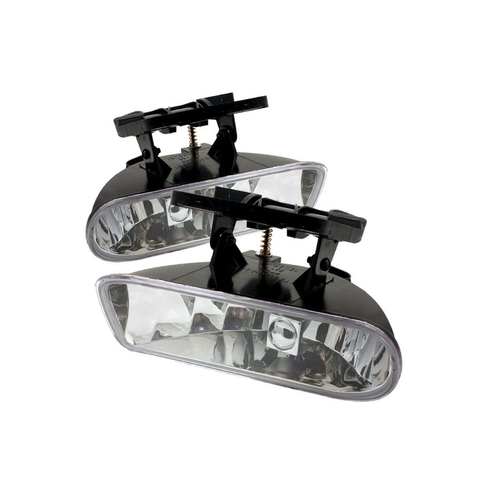 Spyder Auto ® - Clear OEM Style Fog Lights (5025487)