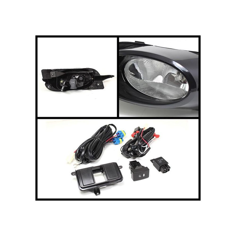 Spyder Auto ® - Clear OEM Style Fog Lights (5038333)