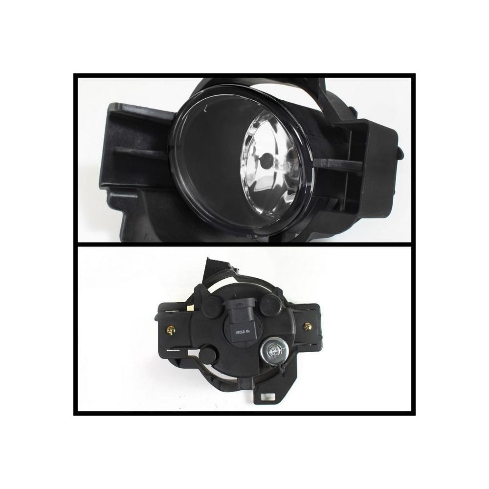 Spyder Auto ® - Clear OEM Style Fog Lights (5038524)