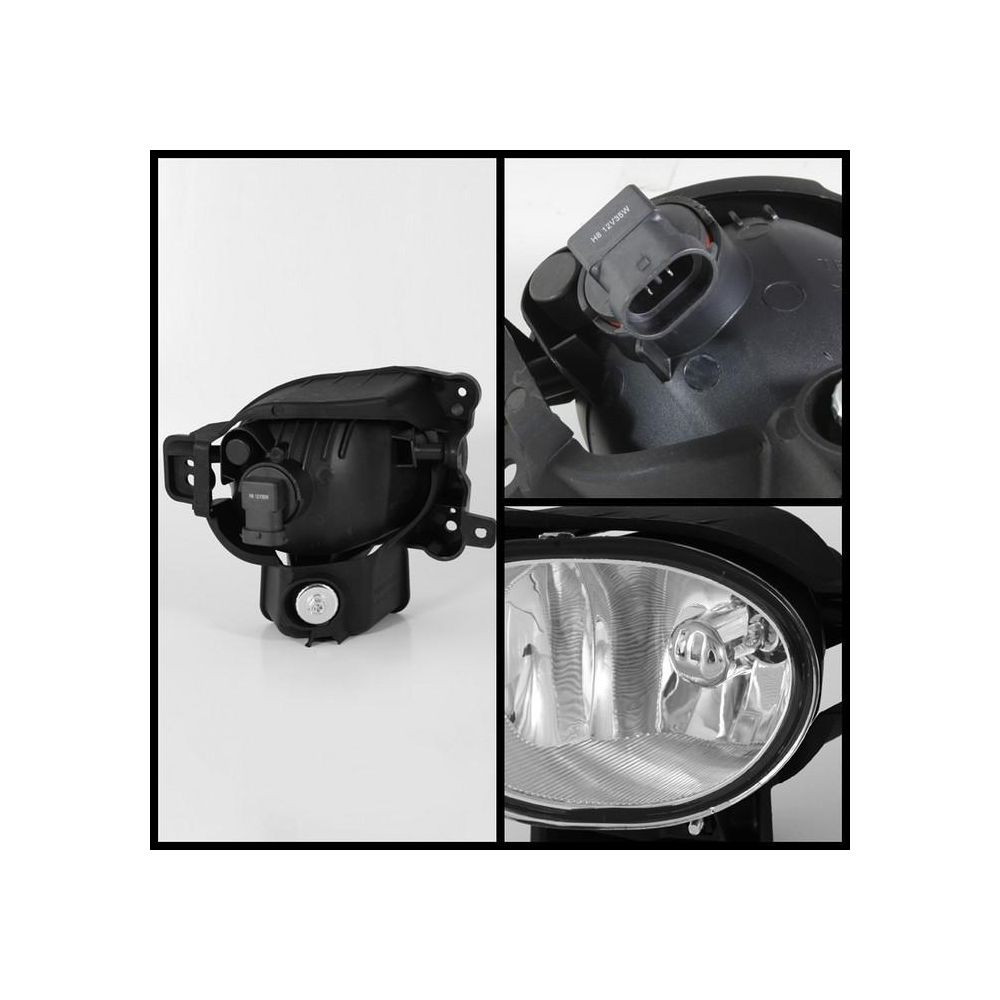Spyder Auto ® - Clear OEM Style Fog Lights (5064677)