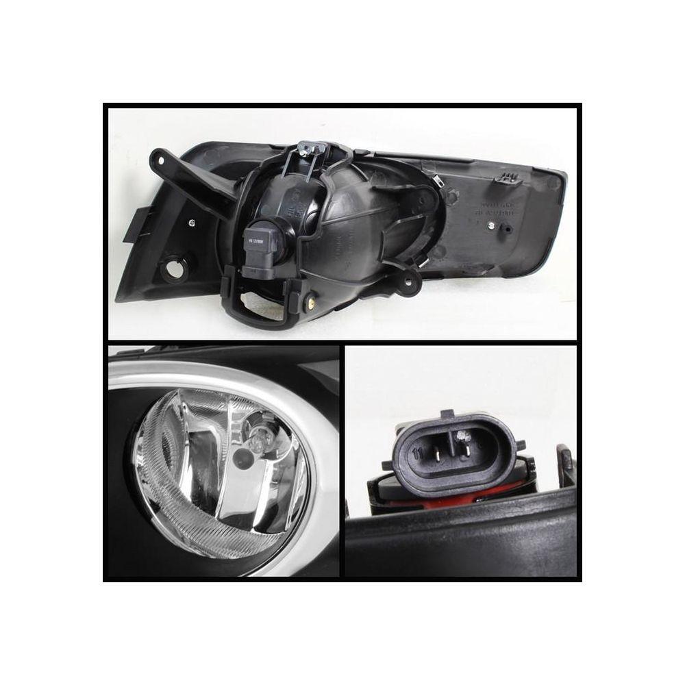 Spyder Auto ® - Clear OEM Style Fog Lights (5069412)